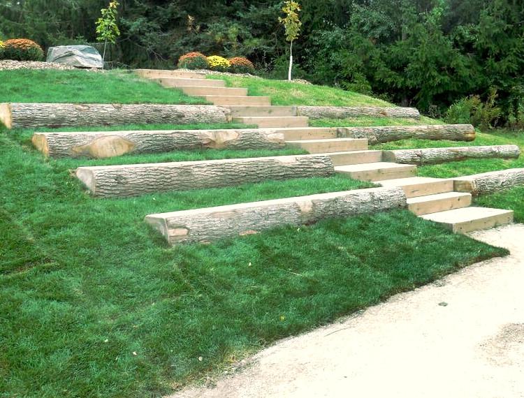 Outdoor Classroom Grass Turf Green Install