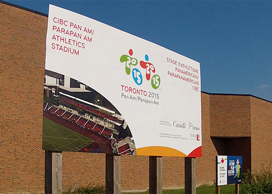 Pan Am Games hosted at York University