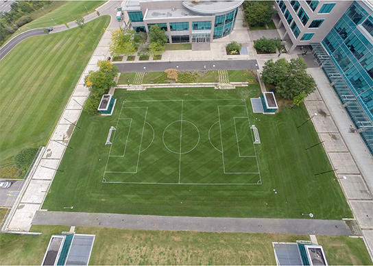 Overhead View of Tangerine Centre