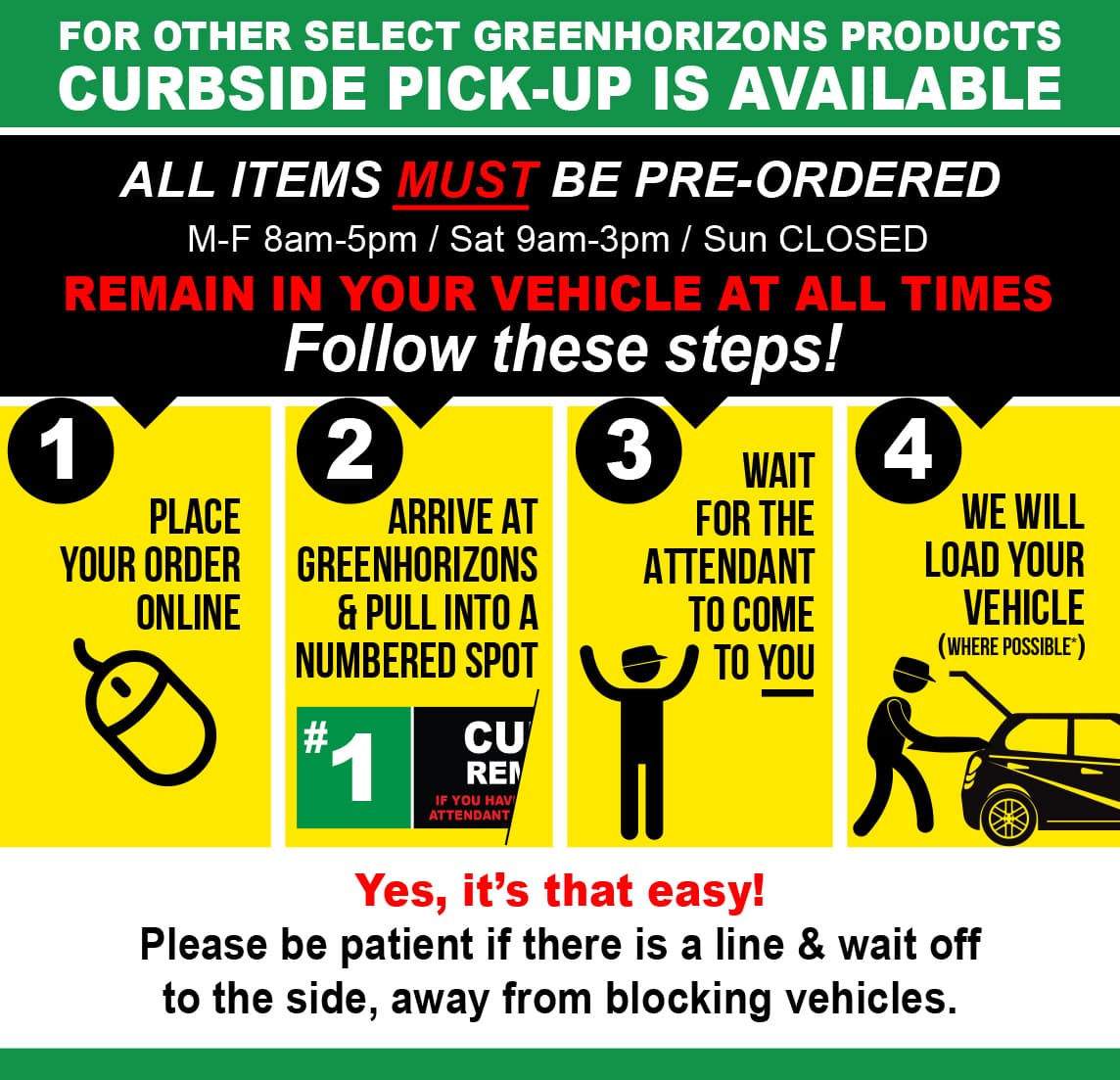 Download pictures to view. CURBSIDE INFORMATION IMAGE